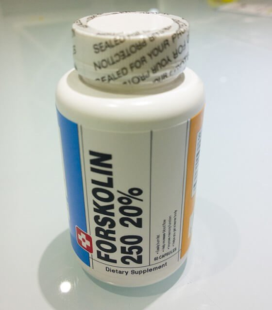 Forskolin 250 - BauerNutrition